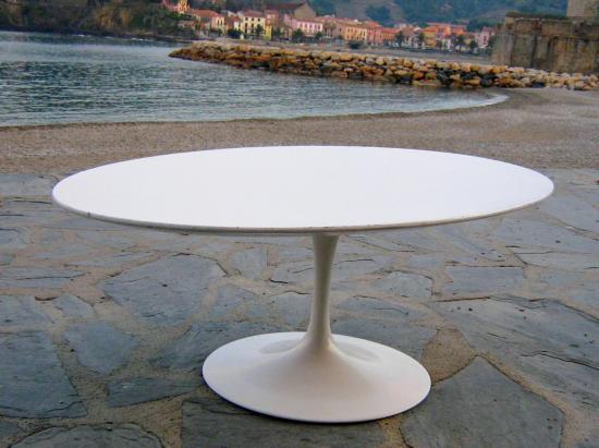 table basse ronde knoll. Black Bedroom Furniture Sets. Home Design Ideas