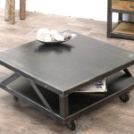 table basse metal
