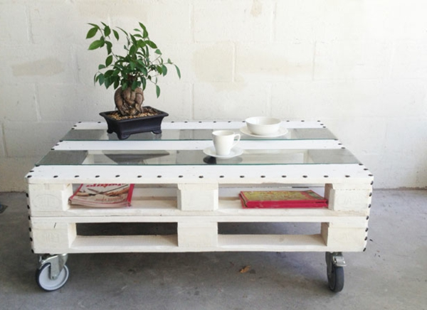 Idee Deco Table Basse Palette