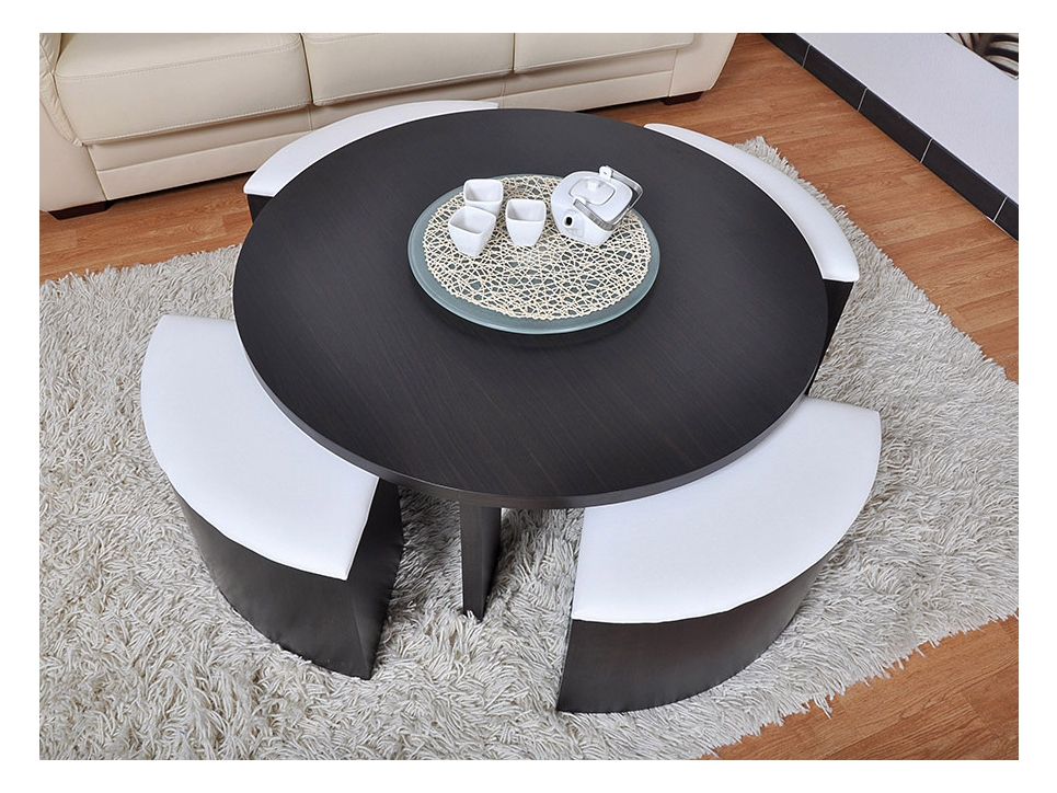 photo table basse pouf. Black Bedroom Furniture Sets. Home Design Ideas