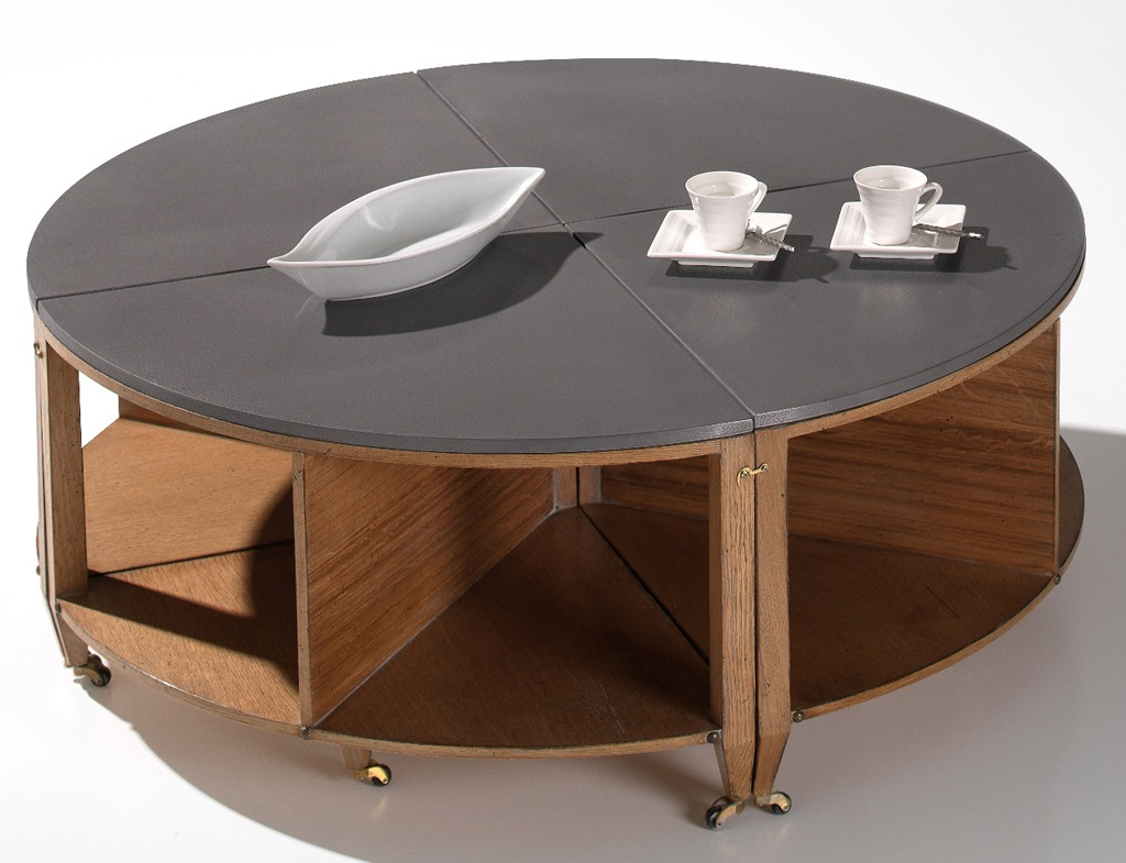 table basse ronde. Black Bedroom Furniture Sets. Home Design Ideas