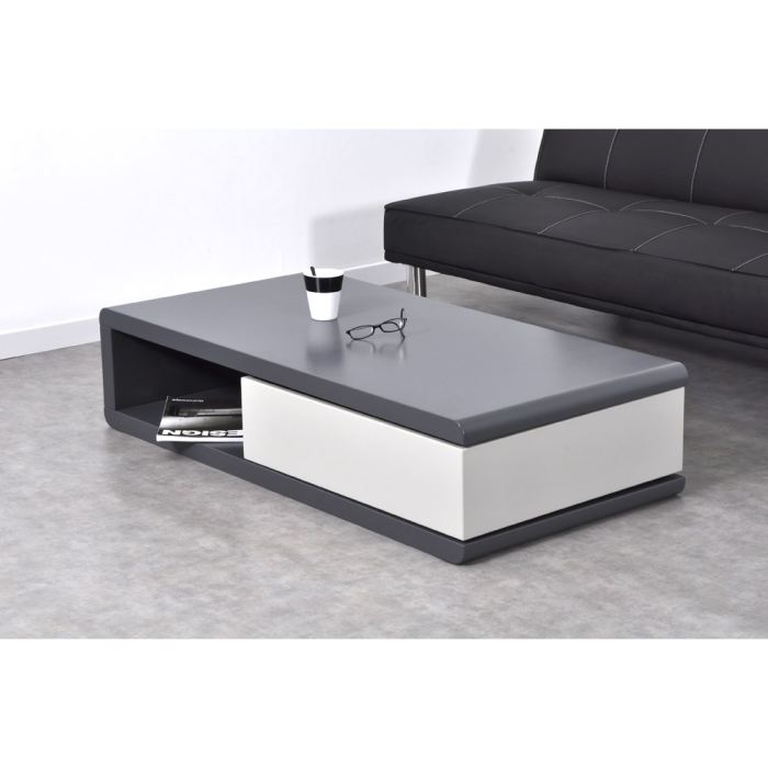 table basse grise pas cher. table basse carre with table basse