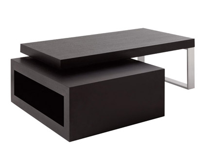Table basse wenge but maison design - Table basse relevable wenge ...