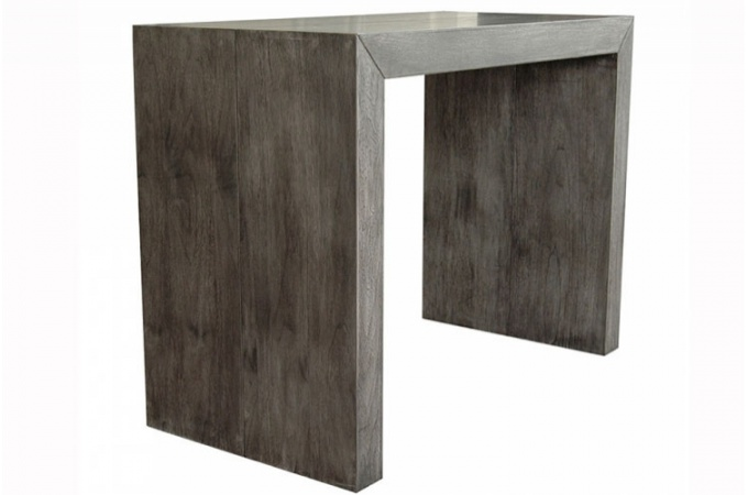 trouver table console extensible bois. Black Bedroom Furniture Sets. Home Design Ideas
