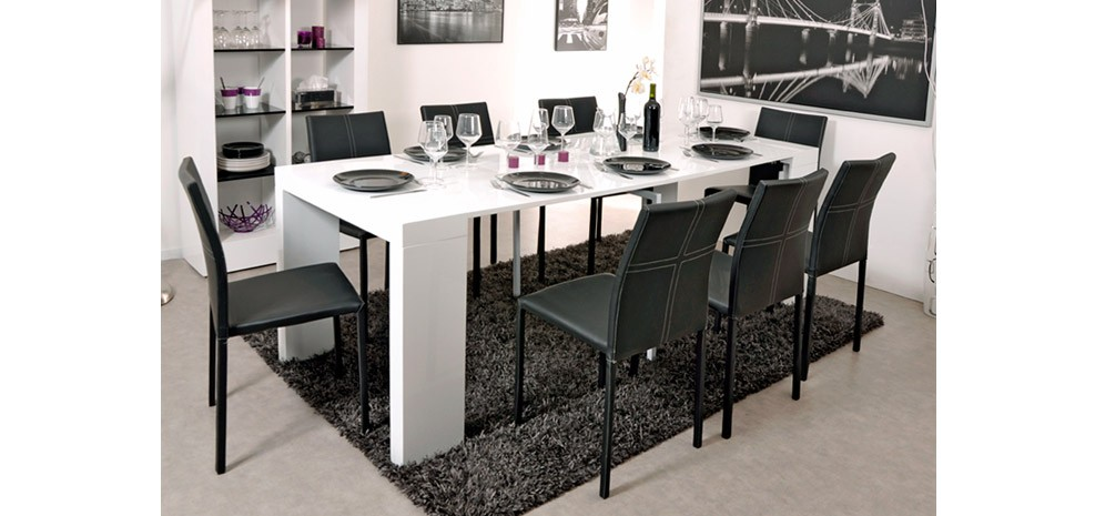 table console extensible but. Black Bedroom Furniture Sets. Home Design Ideas