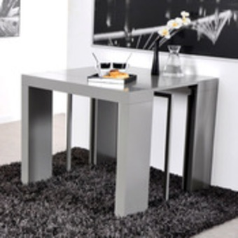 photo table console extensible but. Black Bedroom Furniture Sets. Home Design Ideas