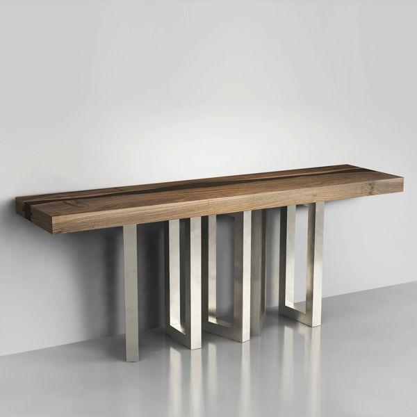 table console originale. Black Bedroom Furniture Sets. Home Design Ideas