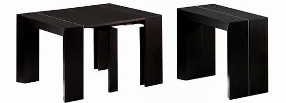 Table a rallonge console ikea for Table cuisine pliante ikea