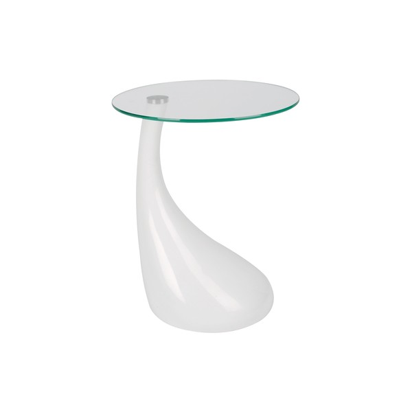 Visuel table d 39 appoint blanc laque z - Table d appoint laque blanc ...