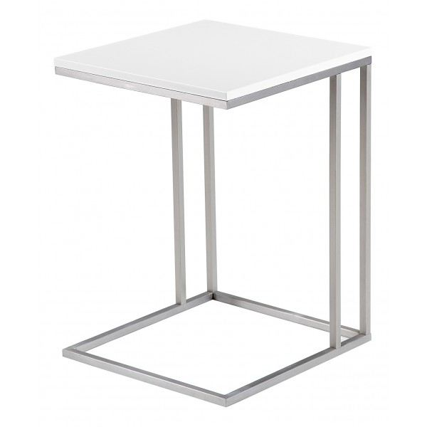 Table d 39 appoint blanc laque z en ligne - Table d appoint laque blanc ...