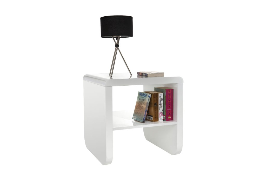 Comparatif table d 39 appoint blanc laque z - Table d appoint laque blanc ...