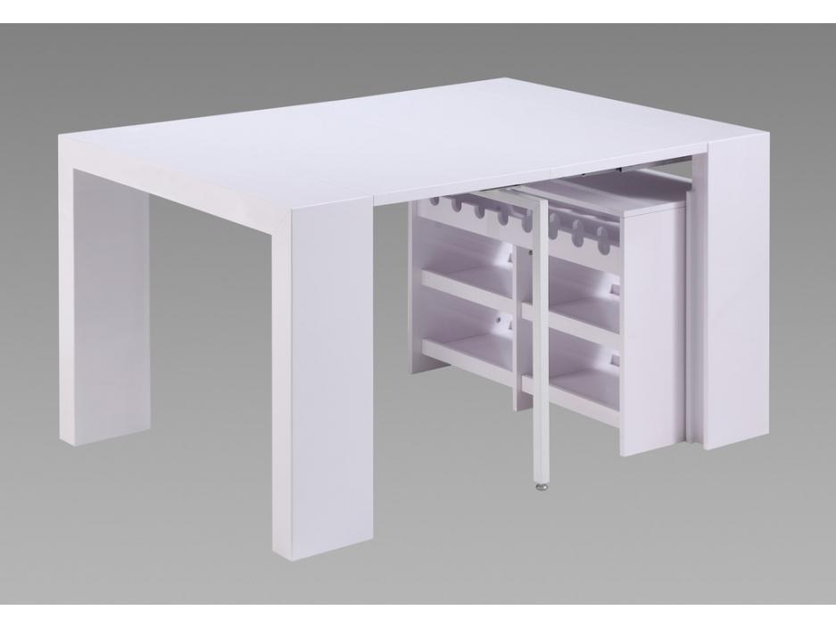 Table de bar extensible for Table haute bar extensible
