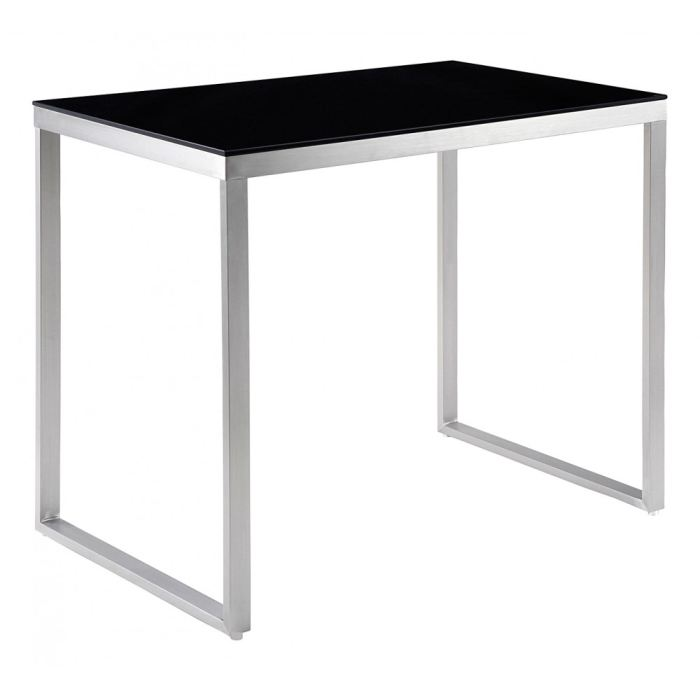 Table de bar haute rectangulaire for Table haute de salon