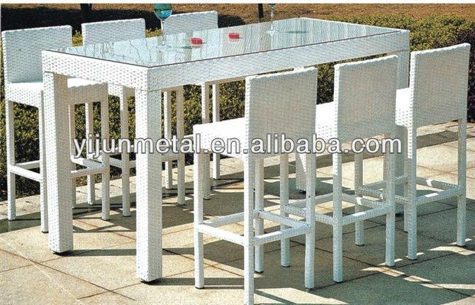Table de bar jardin - Table de salon bar ...