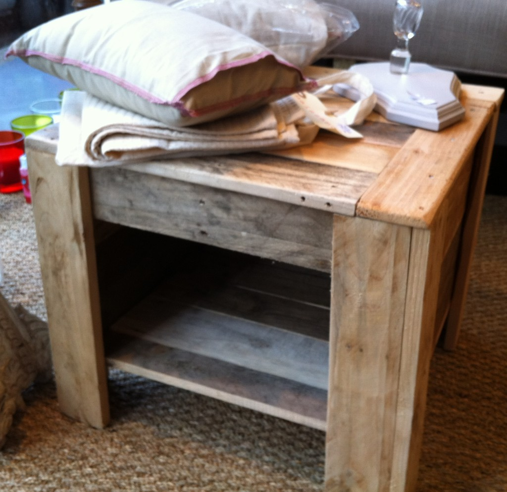 Table de chevet fait maison - Table de chevet fait maison ...