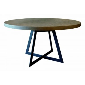 Id e table de salle a manger ronde for Table a manger ronde