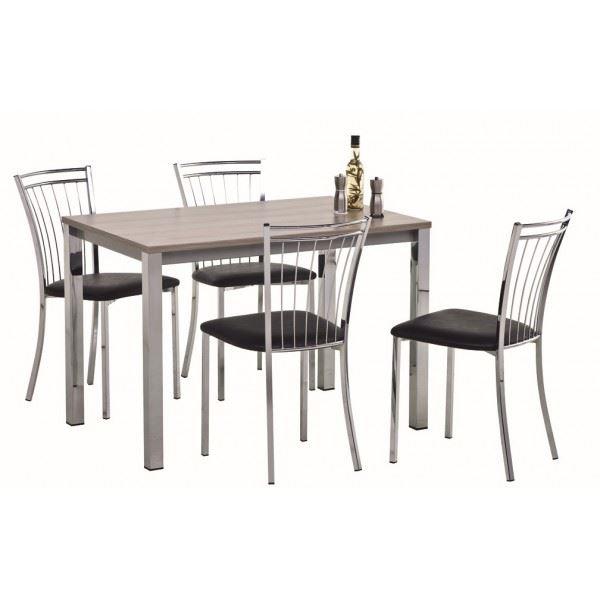 table et chaise de cuisine pas cher. Black Bedroom Furniture Sets. Home Design Ideas