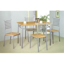 Table et chaise de cuisine pas cher for Table plus chaise de cuisine pas cher