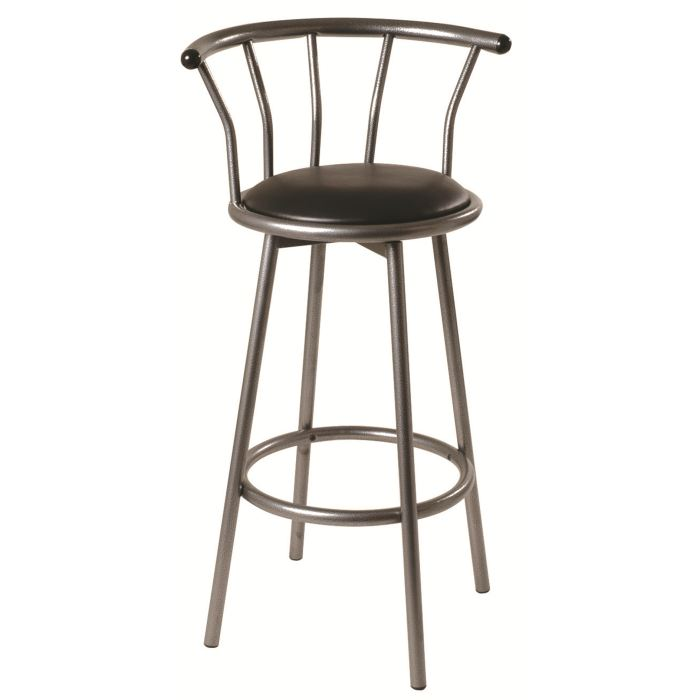 tabouret de bar avec dossier cdiscount. Black Bedroom Furniture Sets. Home Design Ideas