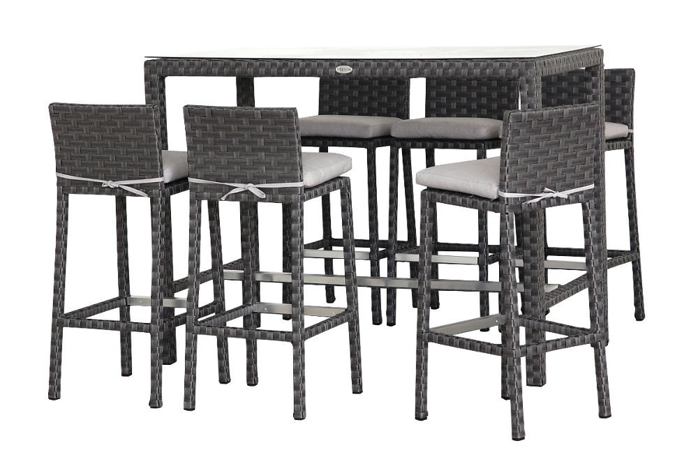 Mod le tabouret de bar et table haute for Modele de bar pour maison