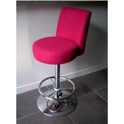 photo tabouret de bar fushia. Black Bedroom Furniture Sets. Home Design Ideas