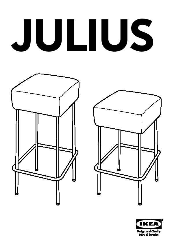 tabouret de bar julius ikea. Black Bedroom Furniture Sets. Home Design Ideas