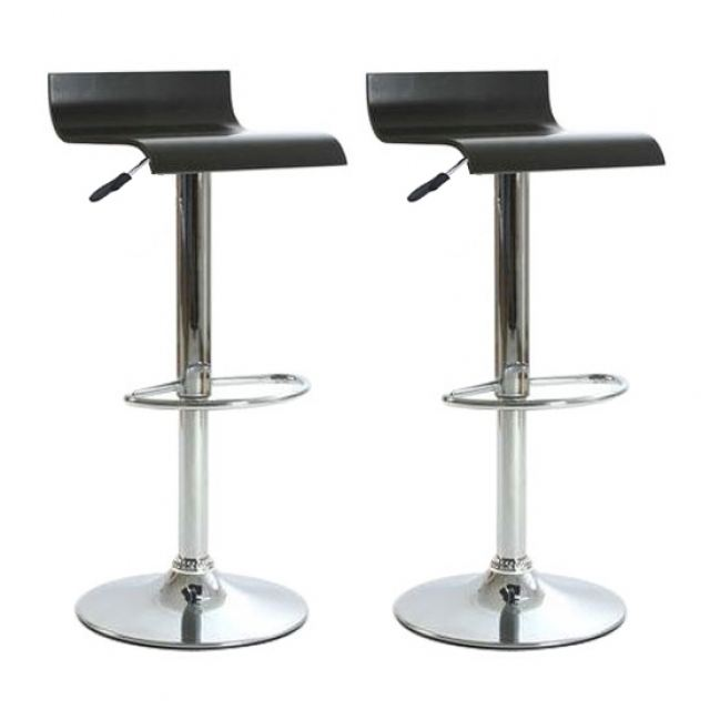 tabouret de bar wave noir