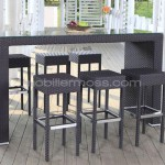 tabouret et table haute