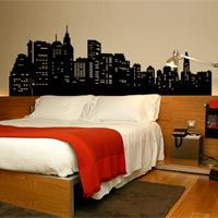 tete de lit new york pas cher. Black Bedroom Furniture Sets. Home Design Ideas