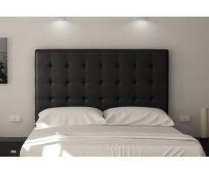 tete de lit noire 140