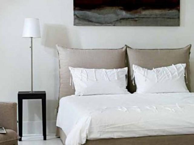 Tete de lit oreiller - Coussin tete de lit conforama ...