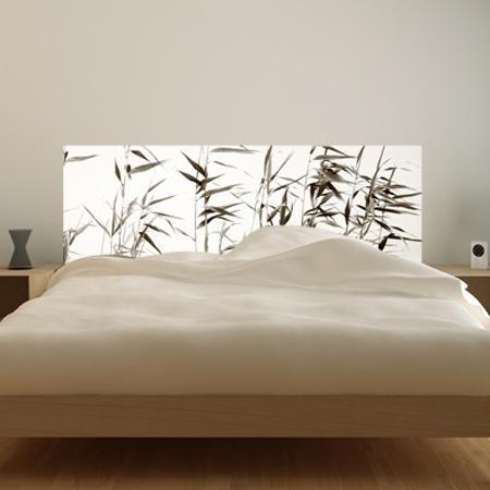 tete de lit zen. Black Bedroom Furniture Sets. Home Design Ideas