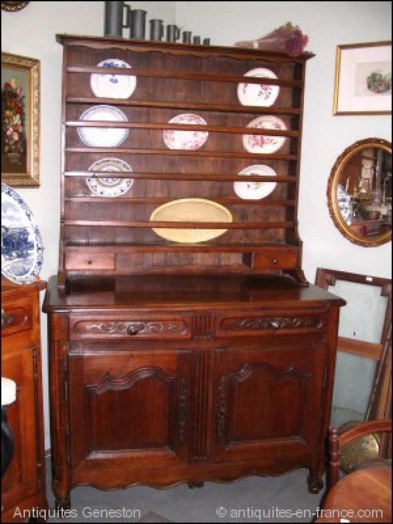 vaisselier ancien louis xv. Black Bedroom Furniture Sets. Home Design Ideas