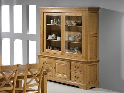 vaisselier bois massif. Black Bedroom Furniture Sets. Home Design Ideas