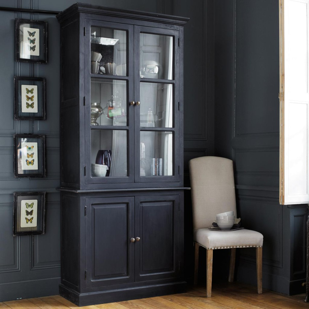 vaisselier noir. Black Bedroom Furniture Sets. Home Design Ideas