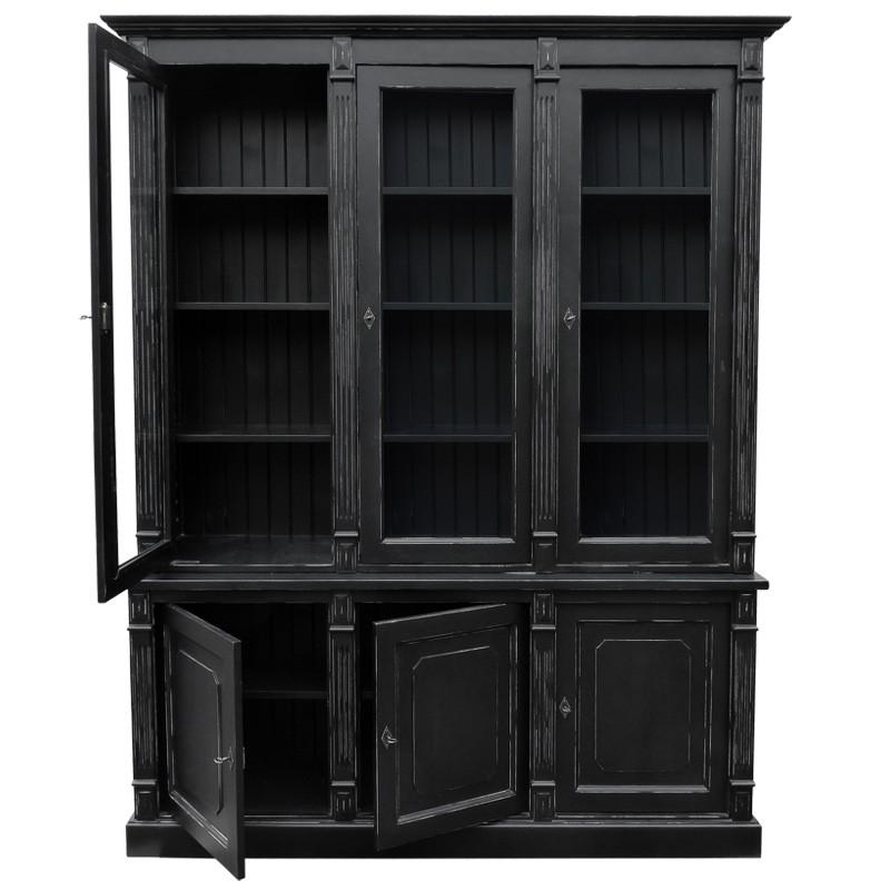 vaisselier noir. Black Bedroom Furniture Sets. Home Design Ideas