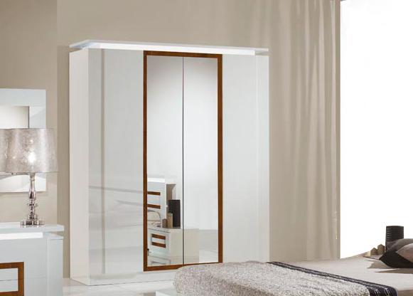 Armoire design chambre armoire chambre adulte design flou for Chambre design italien