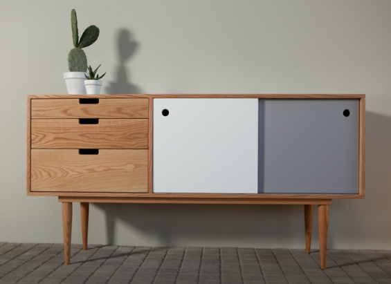 exemple buffet bas annee 50. Black Bedroom Furniture Sets. Home Design Ideas
