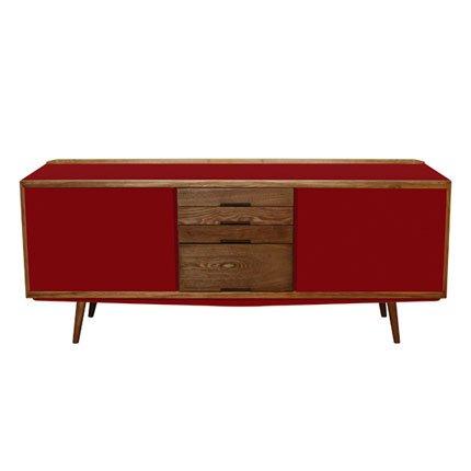 visuel buffet bas annee 50. Black Bedroom Furniture Sets. Home Design Ideas