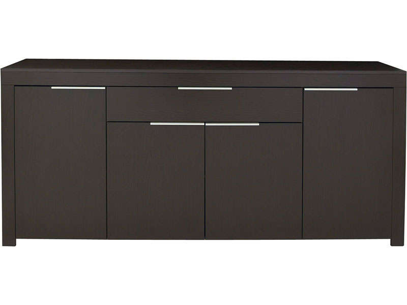 Buffet bas couleur wenge for Meuble bureau wenge