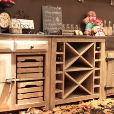 buffet de cuisine bois massif. Black Bedroom Furniture Sets. Home Design Ideas