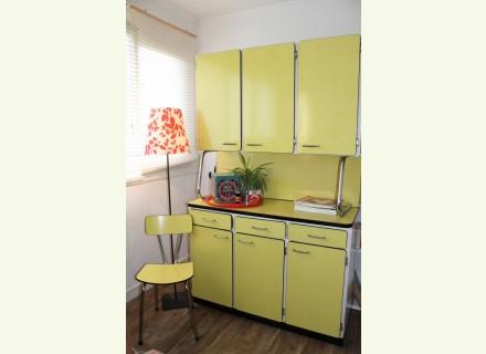 Meuble cuisine formica jaune | Delphine ertzscheid