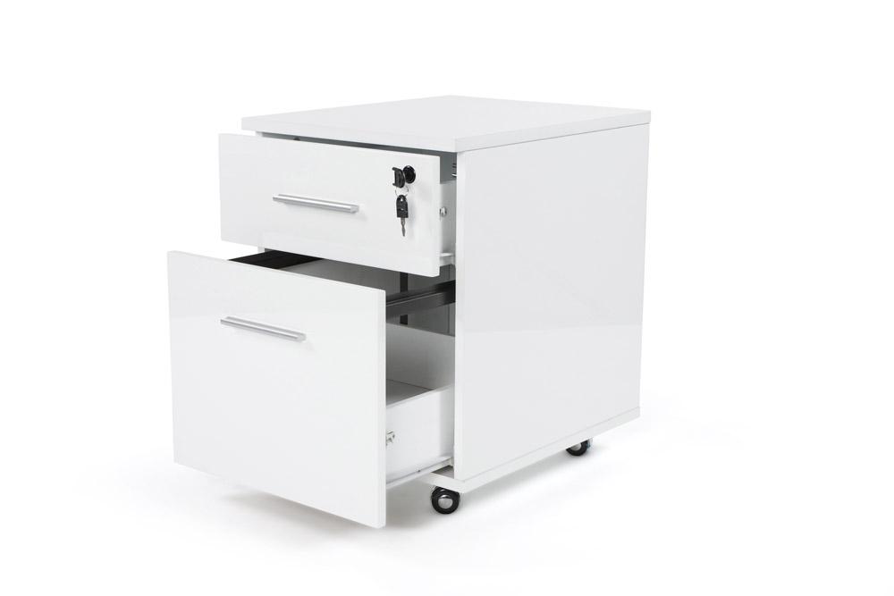 caisson bureau caisson de bureau sur roulettes blanc achat vente caisson de bureau caisson de. Black Bedroom Furniture Sets. Home Design Ideas