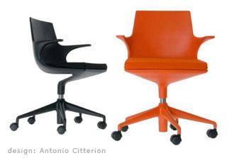 chaise de bureau design. Black Bedroom Furniture Sets. Home Design Ideas