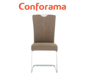 chaise de cuisine chez conforama