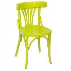 Chaise de cuisine vert anis for Chaise jardin vert anis