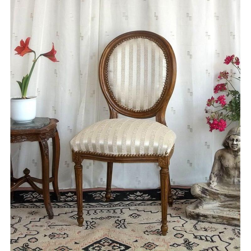 Chaises salle a manger style louis xvi - Chaise style louis xvi ...