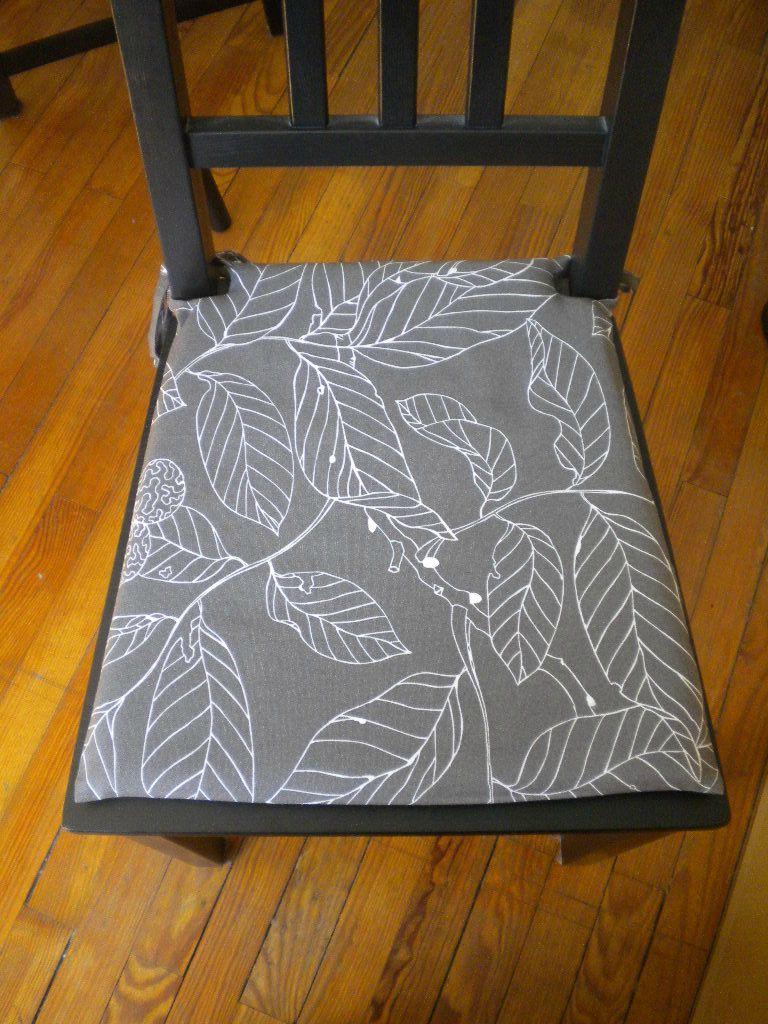 Galette de chaise en paille - Modele galette de chaise ...