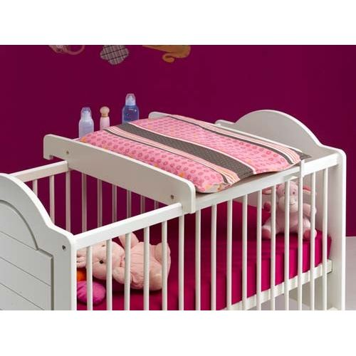 Lit avec table a langer integree solutions pour la - Table a langer lit bebe ...