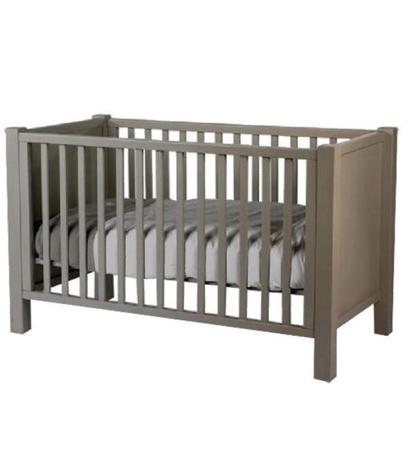 lit bebe taupe. Black Bedroom Furniture Sets. Home Design Ideas